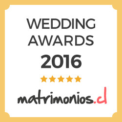 premio wedding awards 2016 por matrimonios.cl